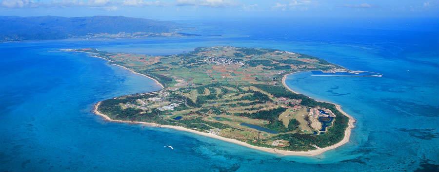 Okinawa Island Hopping - Japan Kohama Island - Aerial photo© Hirata Kanko
