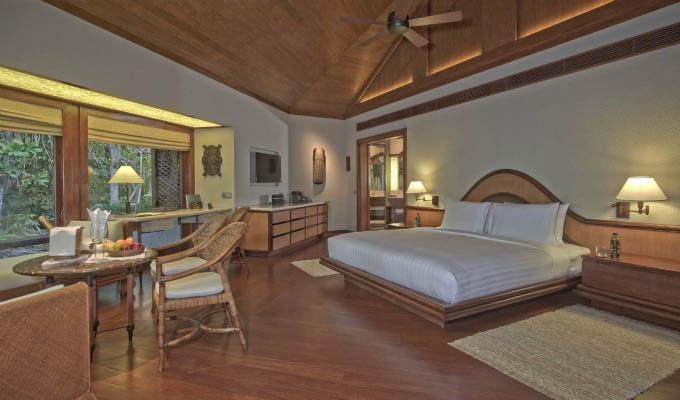 Amanpulo, Tree Top Casita Bedroom - Philippines