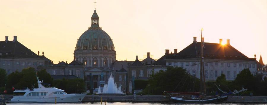 Le Capitali del Nord - Denmark Copenhagen, Amalienborg and Marble Church © Kim Wyon/VisitDenmark