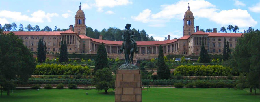 Rovos Rail, da Durban a Pretoria - South Africa  Pretoria, the Union Building