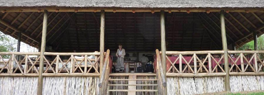 Mantana Tented Camp - Entrance