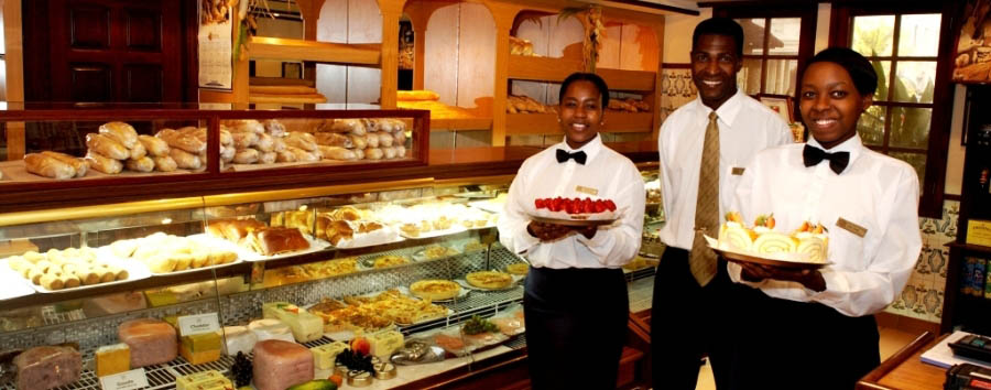 The Polana Serena Hotel - Food and Staff