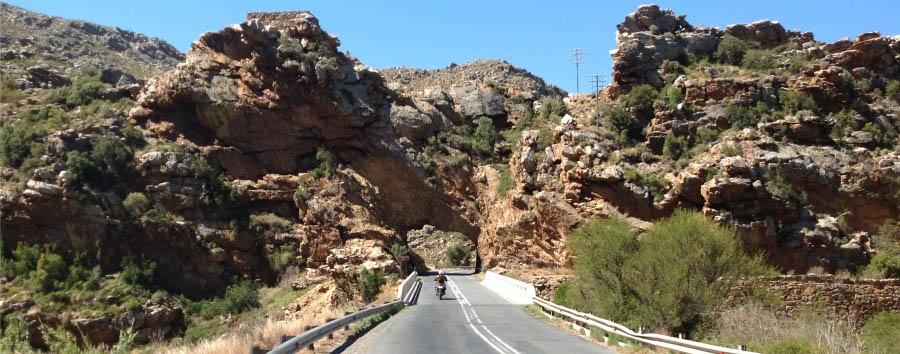 Sudafrica: i diari della motocicletta - South Africa Cogmanskloof, Rock Arch