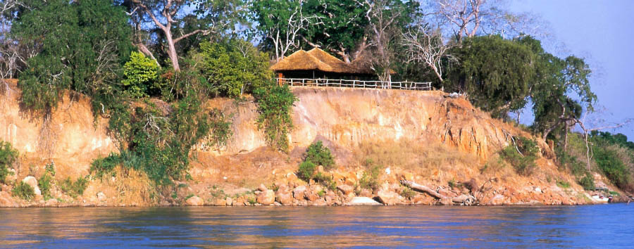 Rufiji River Camp - View from the Rufiji River