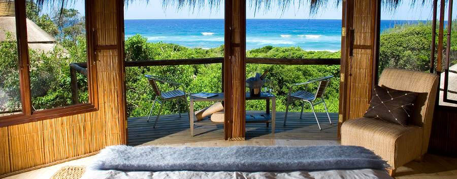 Thonga Beach Lodge - Landscape from seaview room