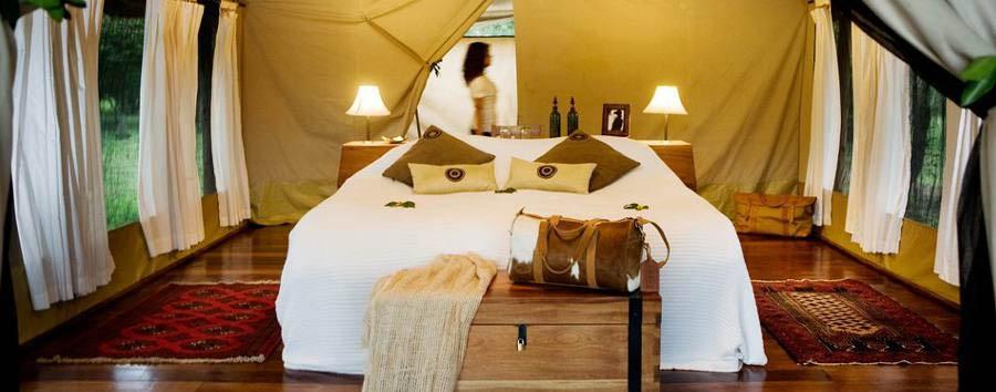 Karen Blixen Camp - Tent interior