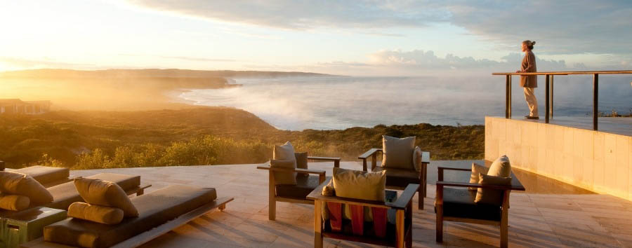 Unique Kangaroo Island Experience - Australia Southern Ocean Lodge, Extraordinary View from The Deck © Luxury Lodges of Australia
