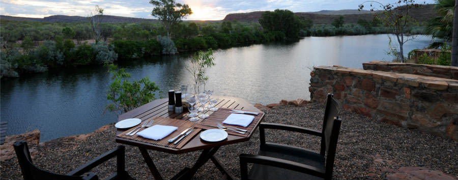 El+Questro+Homestead+-+The+Kimberly+Dining+Cliff+%C2%A9+Luxury+Lodges+of+Australia