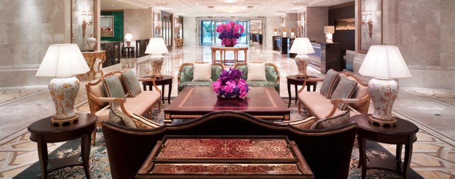 Shangri-La Bosphorus - Hotel lobby