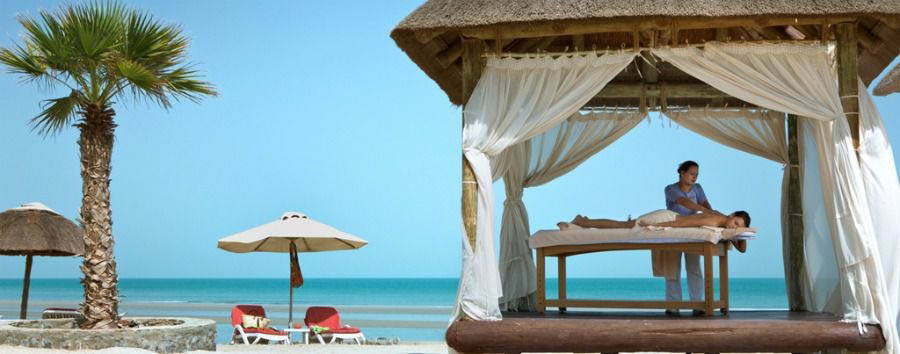 Ras Al Khaimah - The Cove Rotana Resort, Gazebo Massage on The Beach