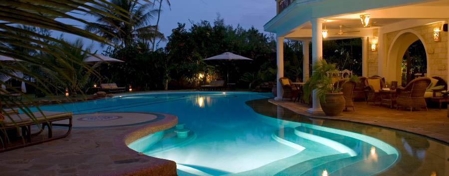 AfroChic Diani - Pool area