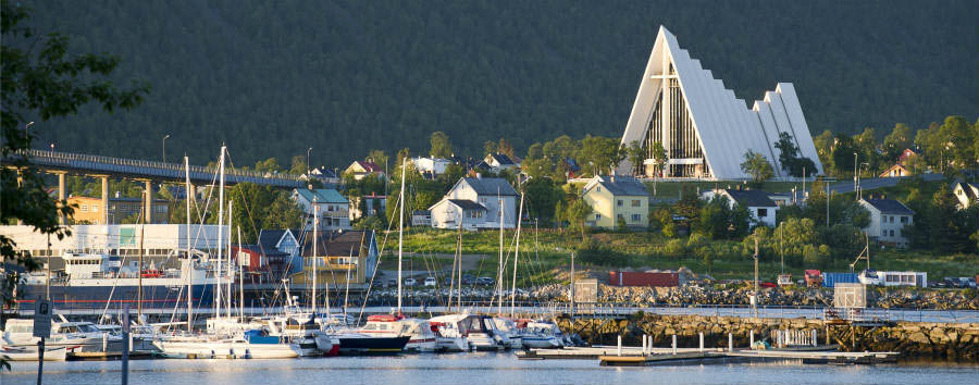 Norway - Tromsø, Arctic Chathedral © CH - Visitnorway.com