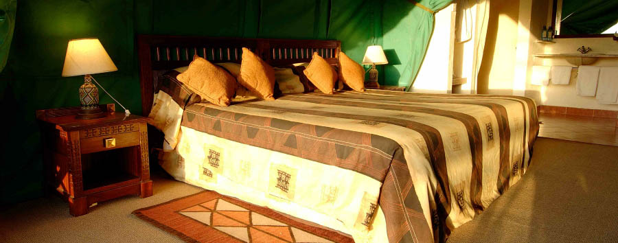 Serena Sweetwater's Tented Camp - Tent interior
