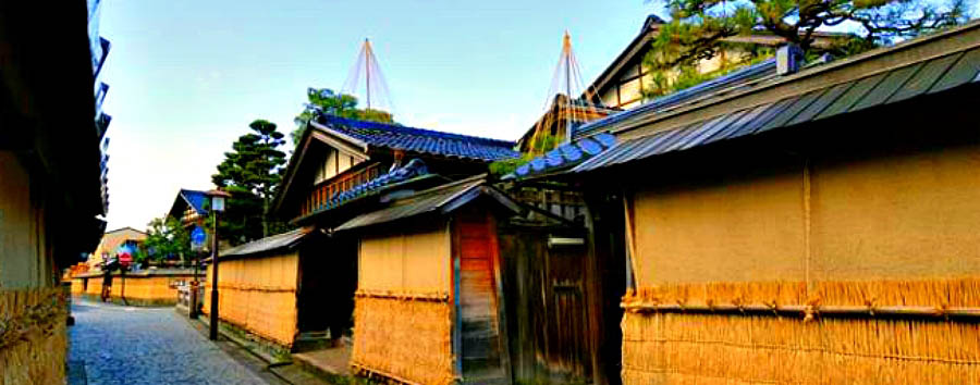 Giappone: tradizioni e nostalgia - Japan Kanazawa - House at the Samurai District