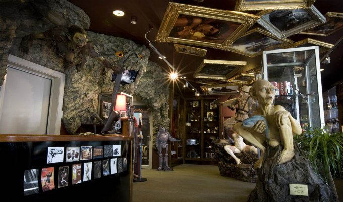 Wellington, Weta Cave Museum © Weta Workshops/Tourism New Zealand - New Zealand