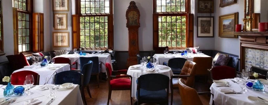 The Alphen Boutique Hotel - The restaurant