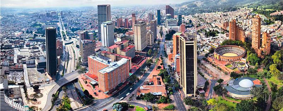 Colombia, Heritage Towns - Colombia Bogotá, Aerial View © ProColombia