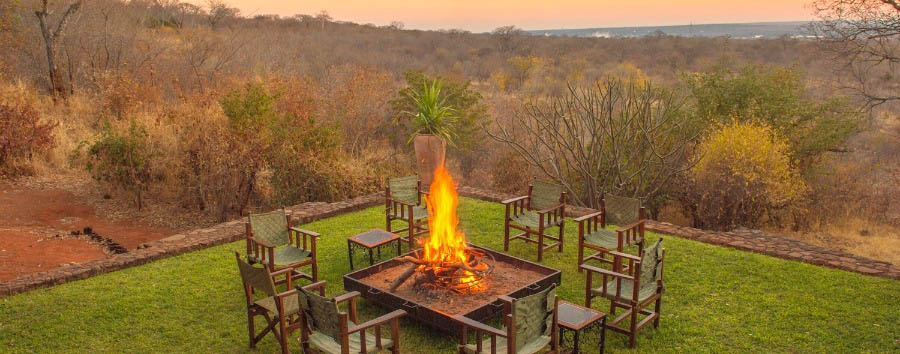 Stanley Safari Lodge - Bonfire area