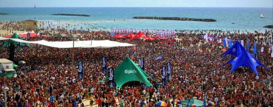 Gay Pride a Tel Aviv - Tel Aviv Pride Parade