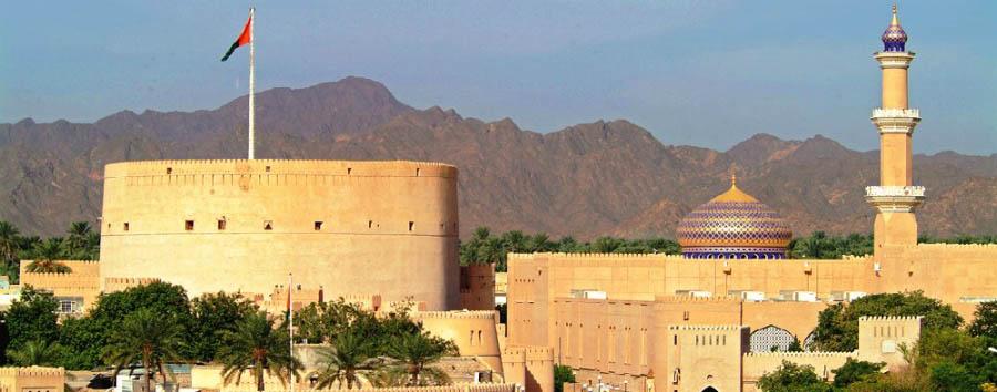 Alla scoperta dell'Oman - Oman Nizwa Fort