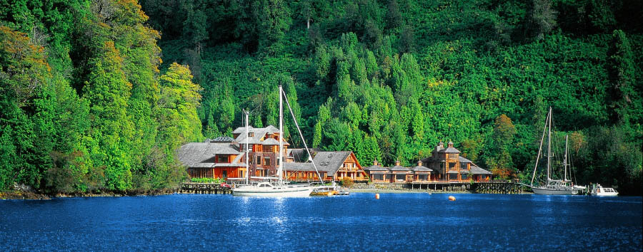 Puyuhuapi Lodge & Spa - Exterior view