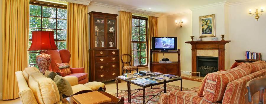 The Cellars-Hohenort - Madiba Villa, lounge