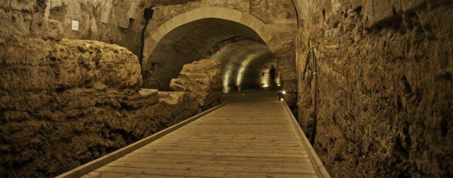 Israele in libertà - Israel Akko, The Templars' Tunnell
