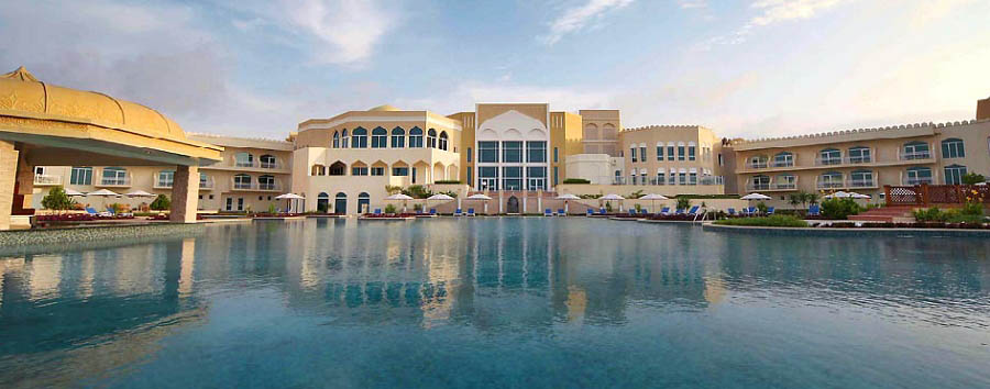 Oman - Marriott Salalah Resort, outer view
