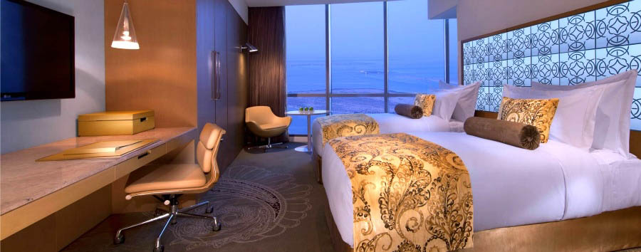 Jumeirah at Etihad Towers - Deluxe Twin Room