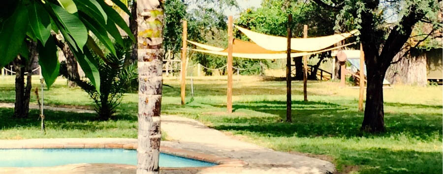 Camp+Kwando+-+Garden+Sails+and+Pool+Area