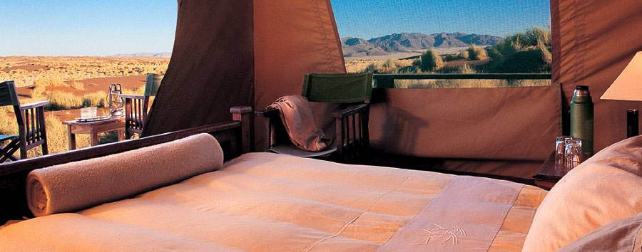 Wolwedans Dune Camp - Bedroom