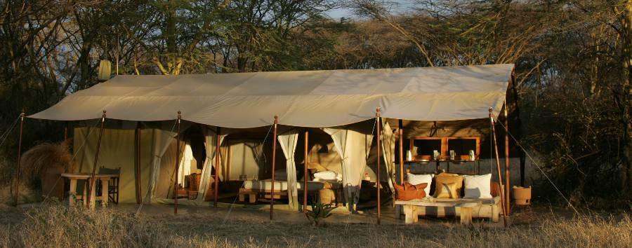 Naibor Camp - Guest tent exterior