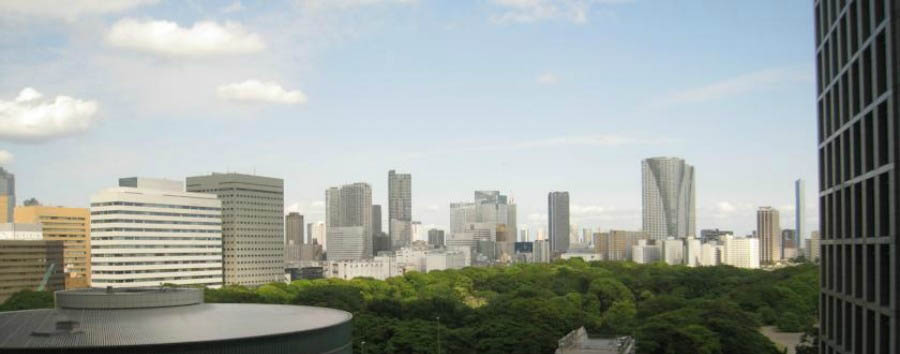 Villa Fontaine Shiodome - View of the city