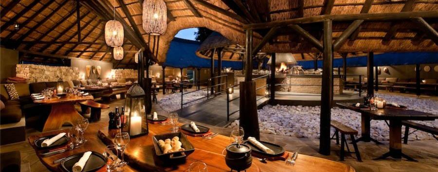 Mokuti Etosha Lodge - African Boma