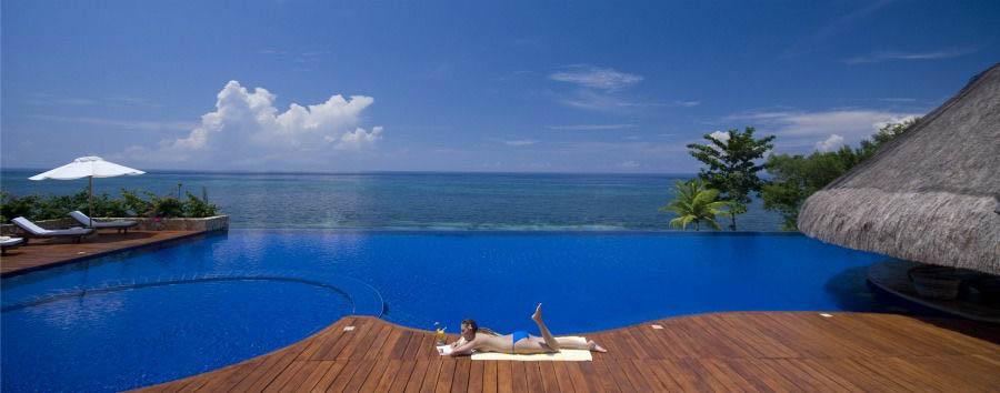 Eskaya Experience - Philippines Eskaya Beach Resort & Spa, Relaxing at Poolside
