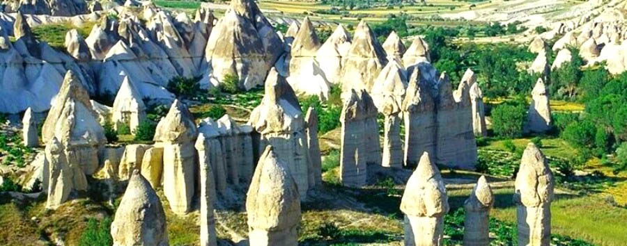 Cappadocia da vivere  - Turkey, Cappadocia Fairy's Chimneys, Dervent Valley