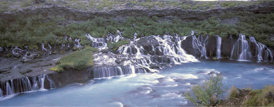 Islanda, natura e aurora boreale - Iceland Hraunfossar - Courtesy of Iceland Travel