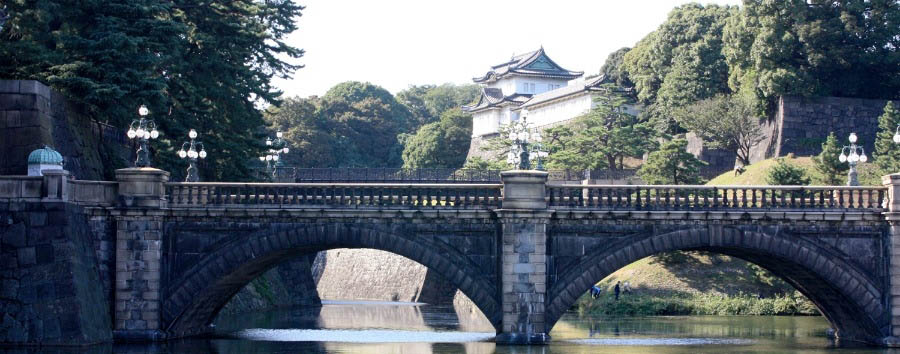 Japan - Tokyo, the Imperial Palace gardens