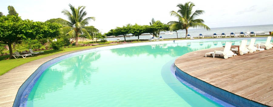 In the middle of the Equator - São Tomé Equador By Pestana Pool