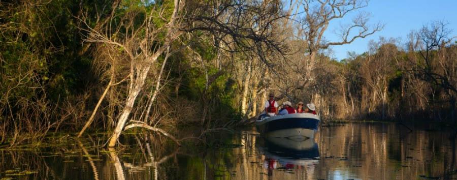 Incanto argentino - Argentina Puerto Valle Hotel de Esteros, Boat Trip in Rio Paraná