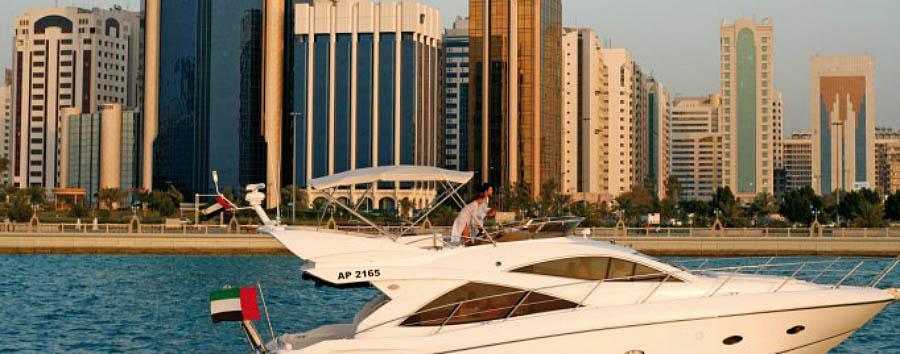Da Dubai ad Abu Dhabi - Abu Dhabi  Skyline