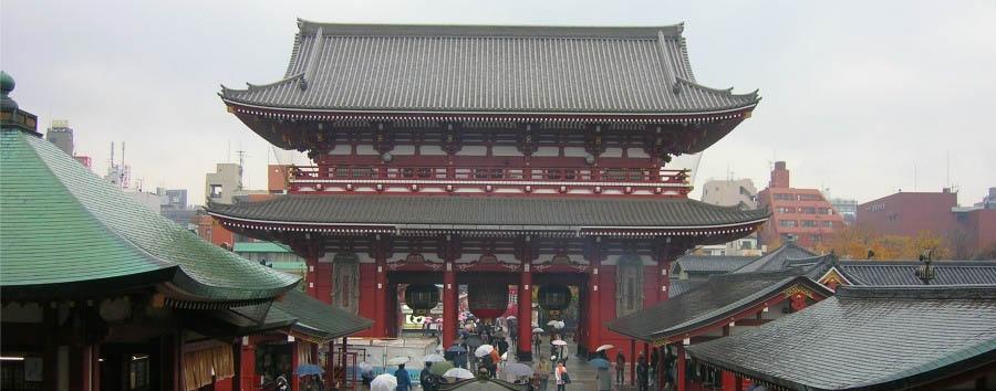 Riflessi di Tokyo - Japan Tokyo, Sensoji Temple