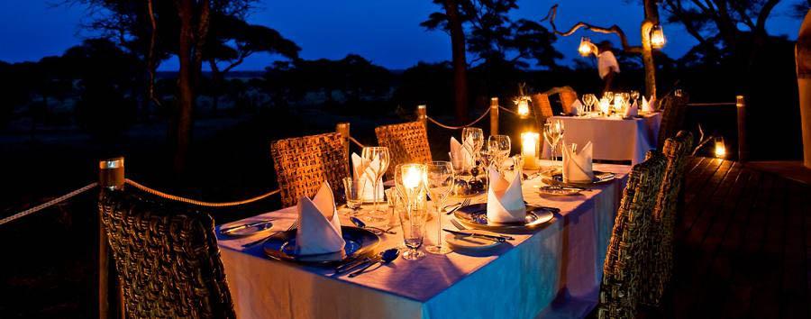Swala Camp - Dining