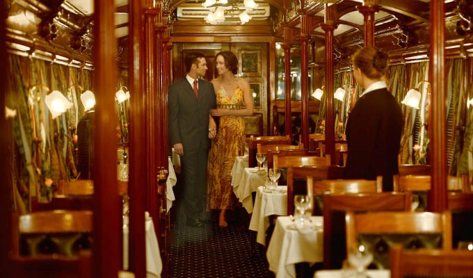 Rovos Rail - Elegant Dining Car