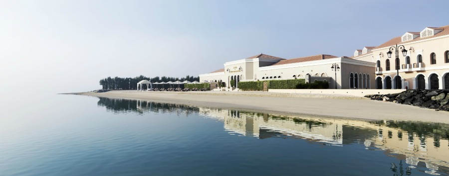 Mare ad Abu Dhabi - Abu Dhabi Ritz-Carlton Abu Dhabi Grand Canal, The Private Beach