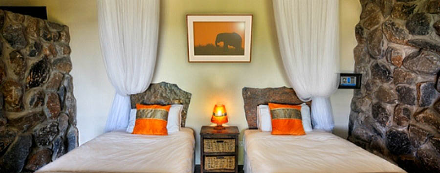 Botswana+-+Twin+room+in+Thamalakane+River+Lodge