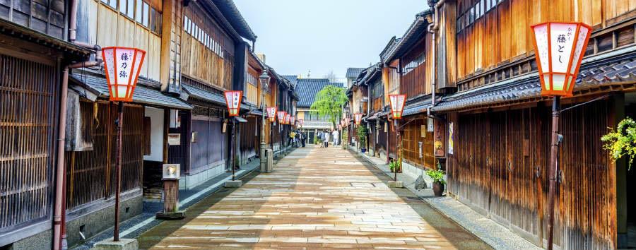 Giappone Classico - Japan Kanazawa - Higashi Chaya-Gai (ancient geishe district )