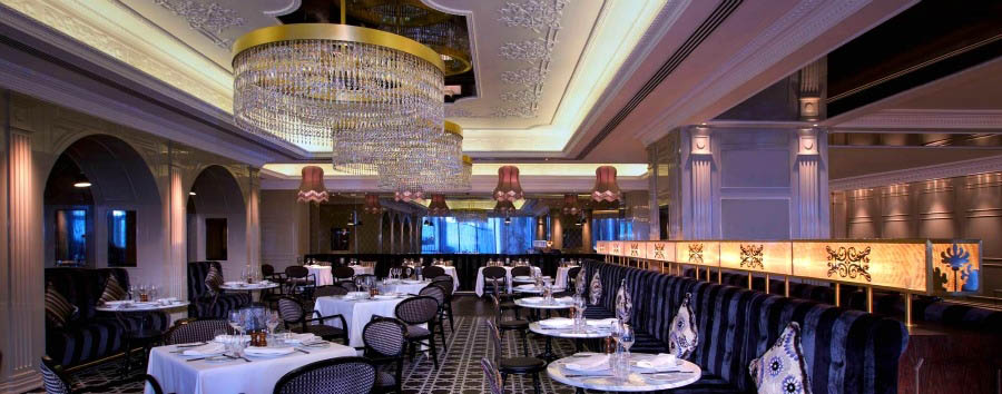 Jumeirah at Etihad Towers - Brasserie Angelique Restaurant