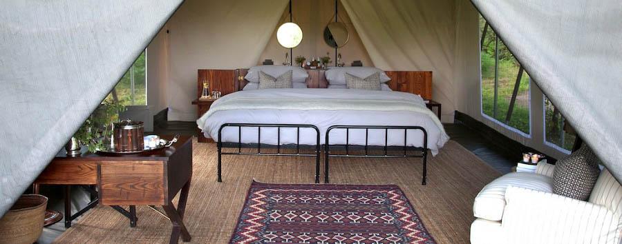 Machaba Camp - Luxury tent