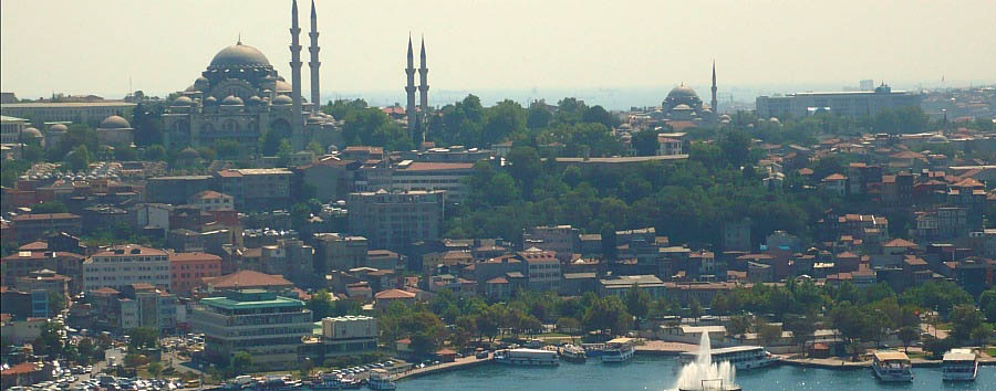 Turkey - Istanbul, panoramic view